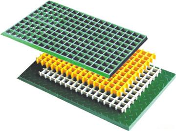聚酯钢格栅板